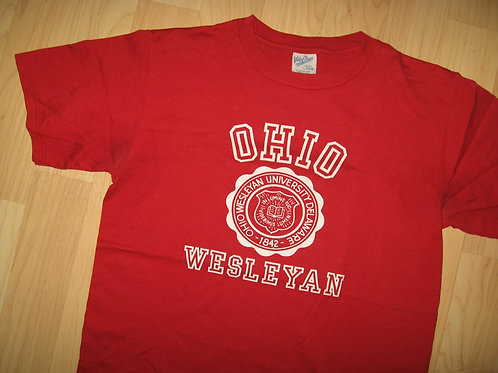Ohio Wesleyan University Vintage Tee - Youth L