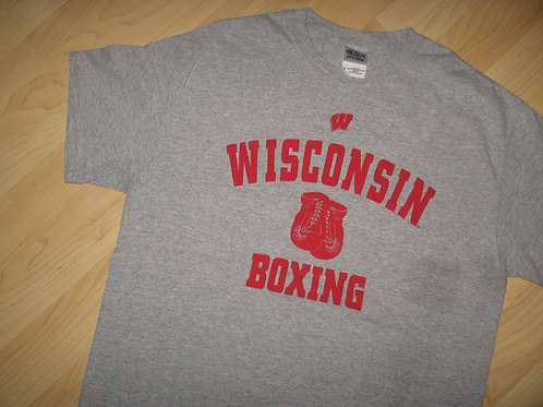 Wisconsin Boxing Gym Boxer Tee - Medium