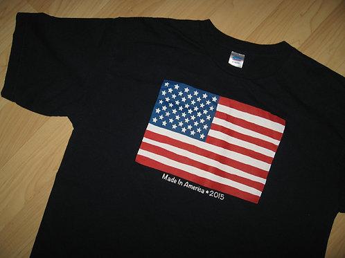 Made In America 2015 USA Flag Tee - Medium