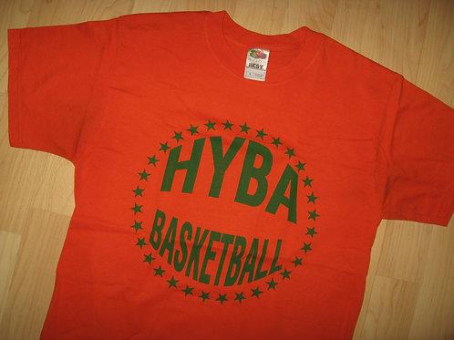 HYBA Howard Youth Basketball Assoc Tee - Medium