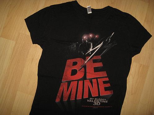 Be Mine My Bloody Valentine Movie Tee - Womens Lg