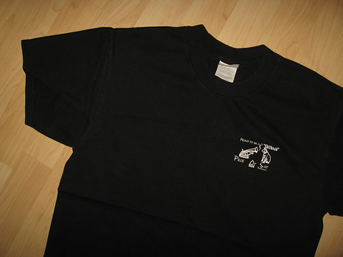 Piece Of Shit Band Shithead Concert Tee - Large