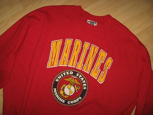 USMC United States Marines 80s Sweatshirt - XL/2XL