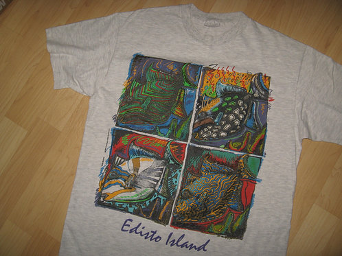 Edisto Island Vintage 1990 USA Tee - Large