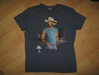 Kenny Chesney 2013 Concert T Shirt $20