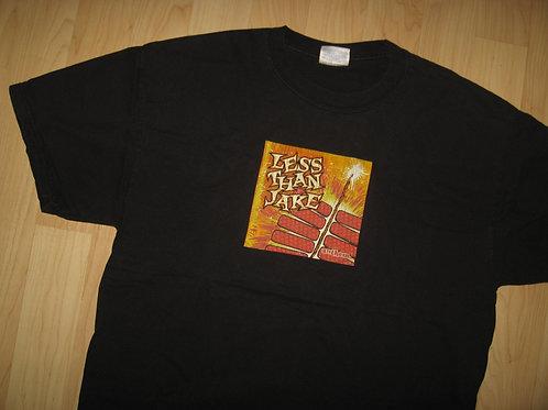 Less Than Jake Anthem '03 Punk Concert Tee - Large