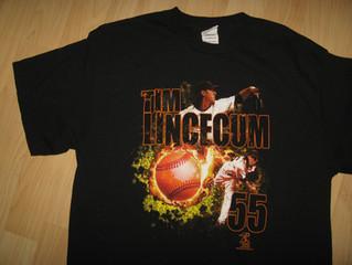 Tim Lincecum Long Hair T Shirt $22