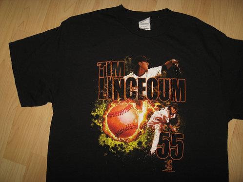 Tim Lincecum 2010 SF Giants Tee - Large