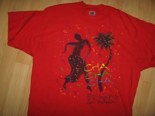 Cha Cha Cha Haight Street San Francisco Hand Painted Vintage T Shirt