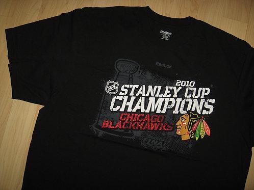Chicago Blackhawks Stanley Cup 2010 Tee - XXL
