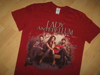 Lady Antebellum 2012 Concert Tee $22