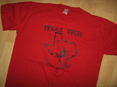 Texas Tech 1970's Lubbock Invitational Tee - XL