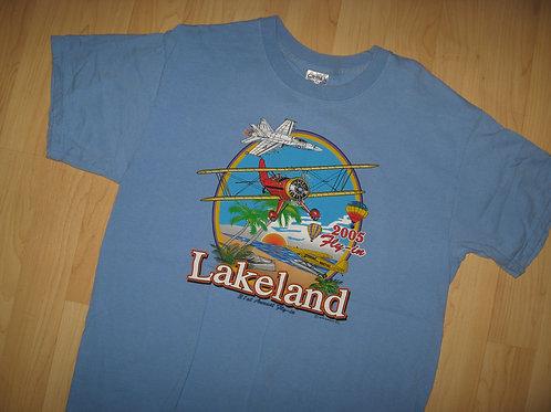 Lakeland Florida 2005 Airplane Fly-In Tee - Large