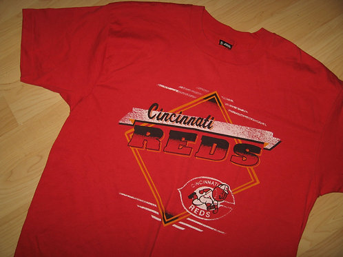 Cincinnati Reds 1980's Vintage Tee - XL