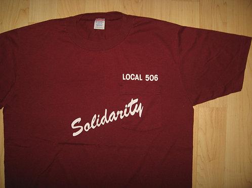 UAW Aerospace Union 1970's Vintage T Shirt - Large