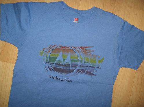 Motorola Gay Pride LGBT Rainbow Tee - Medium