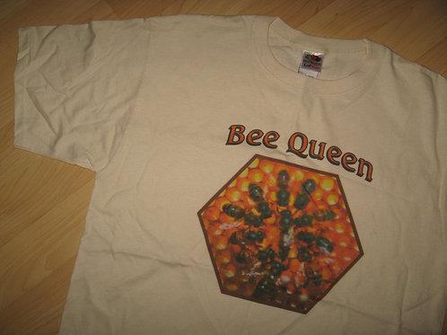 Bee Queen Drone Hive Beekeeper Tee - Large