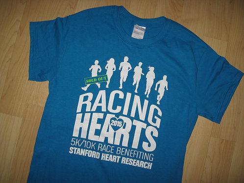 Racing Hearts 2015 Stanford Run Tee - Small