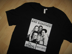 vintage second hand t shirts cover uranus the exes tv show tee 1