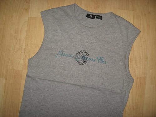 Guess Jeans Co. Scorpion Gray Tank Top - Small
