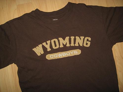 University Wyoming Cowboys Applique Tee - Medium