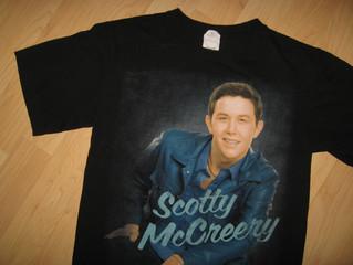 Scott McCreery 2011 Concert Tee - $24