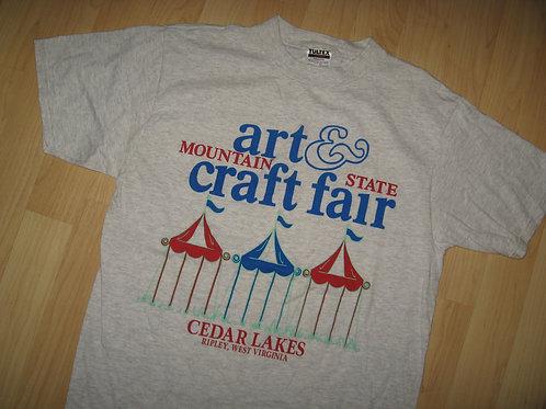 Mountain State Art & Craft Fair Tee - Large