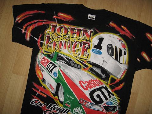 John Force 1998 NHRA Winston Racing Tee - Large