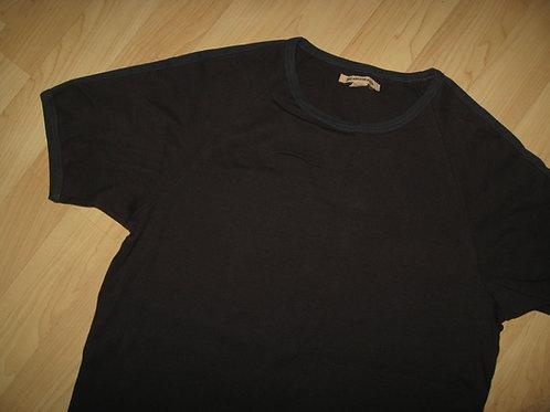 John Varvatos USA Ribbed Ringer Shirt - Large