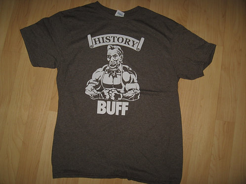 History Buff Abraham Lincoln Muscle Tee - Medium