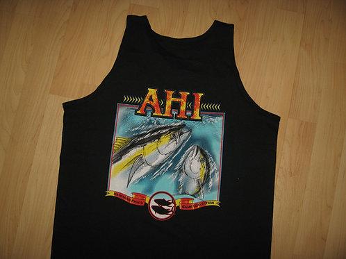 Hawaii Ahi Fish Tank Top - Large