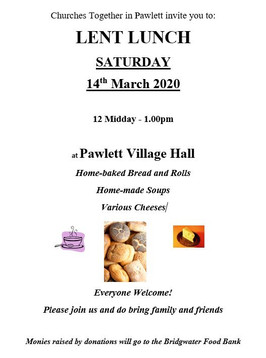 Lent Lunch - 14th March