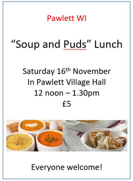 WI 'Soup & Puds' Lunch