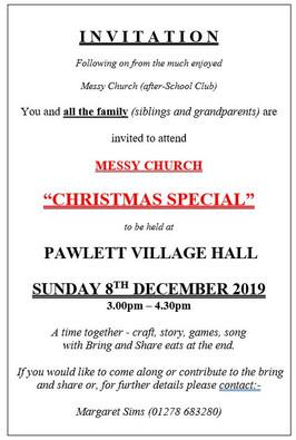 Messy Church Christmas Special