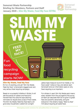 Slim My Waste - food recycling campaign