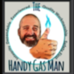 The Handy Gas Man logo