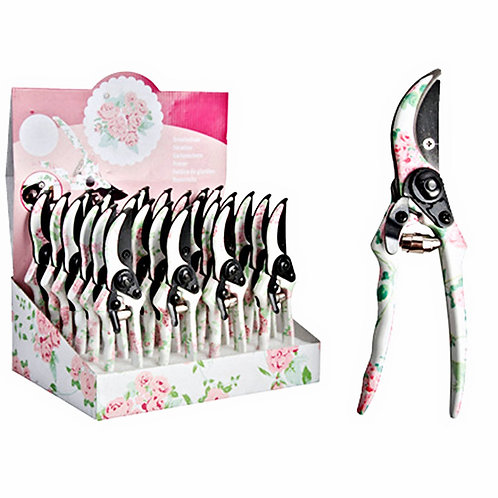 Rose Print Garden Pruner Available at Creative Caboodle in The Handy Gas Man Hearth & Home Shop