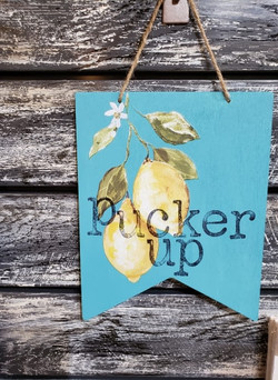 creative caboodle IOD lemon drops pucker