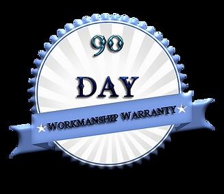 90 day workmanship warranty