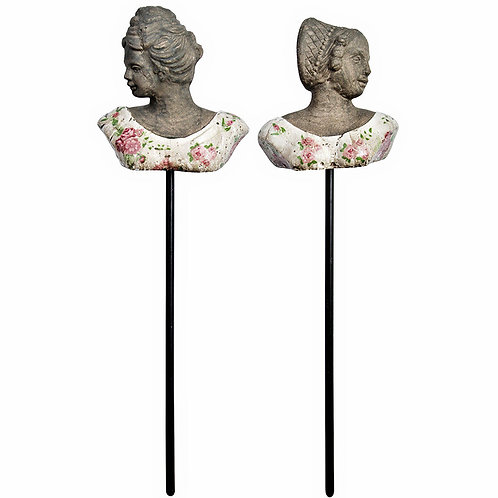 Garden Rose Collection Victorian Ladies Busts Garden Stake Statue at Creative Caboodle in The Handy Gas Man Hearth & Home