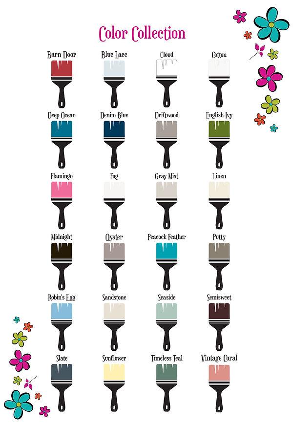Rethunk Junk Paint Color Collection
