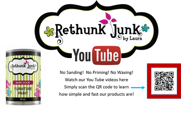 Rethunk Junk by Laura Youtube
