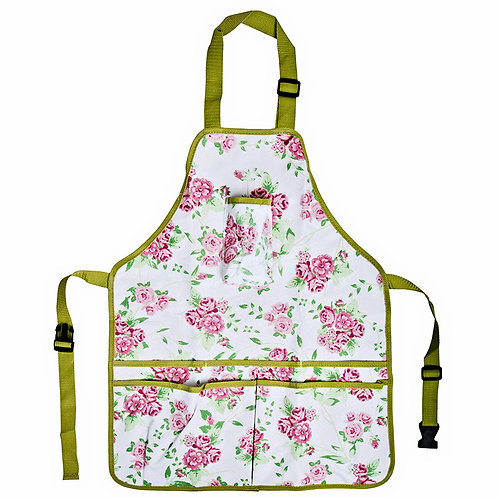 Rose Print Garden Apron Available at Creative Caboodle in The Handy Gas Man Hearth & Home Shop