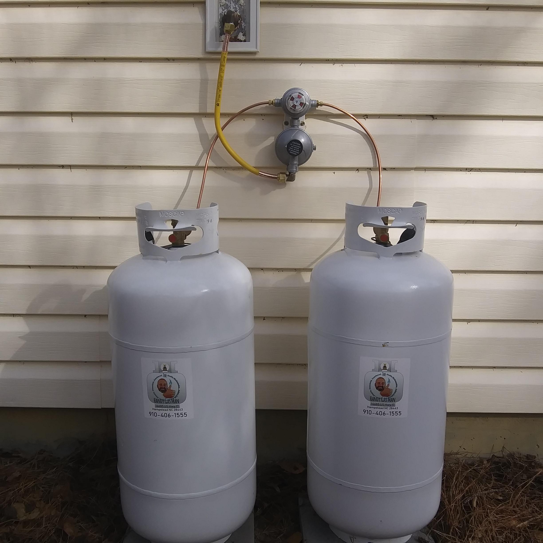 Twin 40# Cylinder Installation