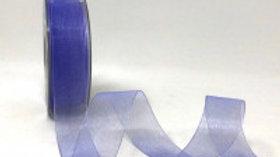 Safisa Sheer Organza Ribbon 25mm Lilac
