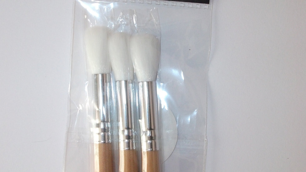 Cosmic Shimmer Set of 3 Mica Brushes