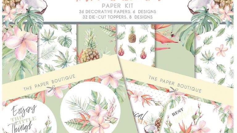 The Paper Boutique Tropical Dreams