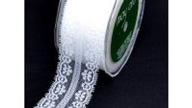 May Arts Nylon Lace 45mm Ivory