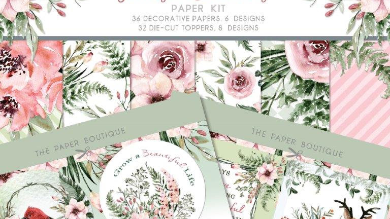 The Paper Boutique Forest Blooms