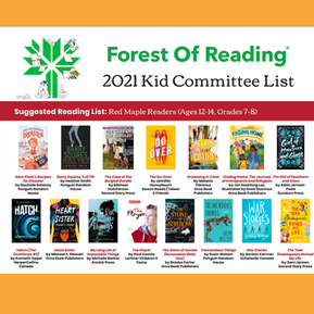 THE DO-OVER selected for The Forest of Reading 2021 Red Maple List